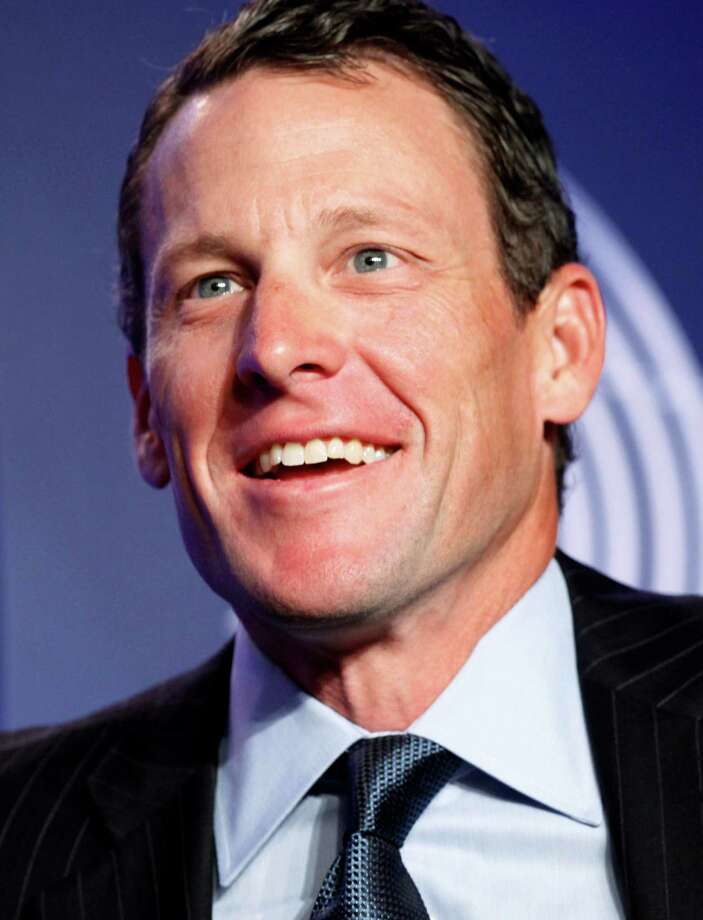 Lance Armstrong, cyclist and Livestrong founder, attends the Clinton Global Initiative, Wednesday, Sept. 22, 2010, in New York. (AP Photo/Mark Lennihan) Photo: Mark Lennihan, Associated Press / AP