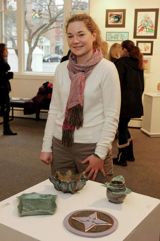 Were you Seen at the Opening Reception of All Stars: A Showcase of Saratoga County High School Artists on Saturday, Jan. 12 at the Saratoga Arts Council in Saratoga Springs? Photo: Joe Putrock/Special To The Times Union