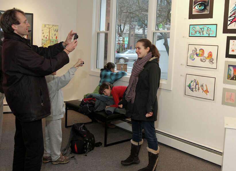 Were you Seen at the Opening Reception of All Stars: A Showcase of Saratoga County High School Artis