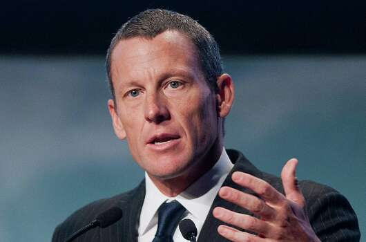Lance Armstrong speaks to delegates at the World Cancer Congress in Montreal Wednesday, Aug. 29, 2012. (AP Photo/The Canadian Press, Graham Hughes) Photo: Graham Hughes, Associated Press / CP