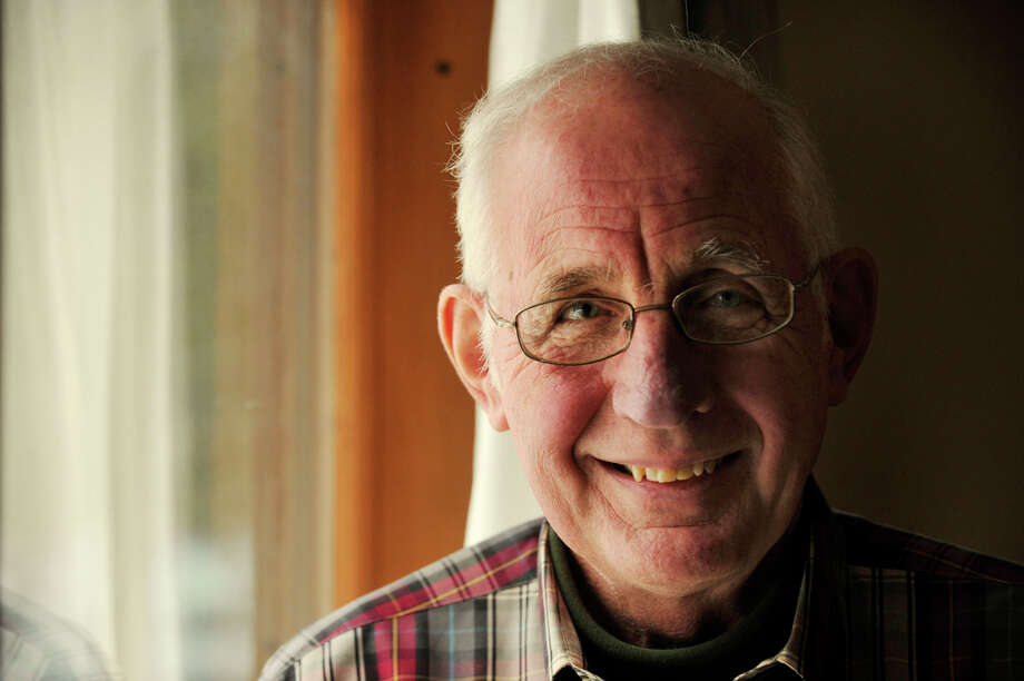 George Hochsprung, husband of Dawn Hochsprung, the Sandy Hook Elementary School principal who was killed in the school shooting last month, is retiring from Rogers Park Middle School after serving 40 years in the Danbury school system. Photo: Jason Rearick / The News-Times