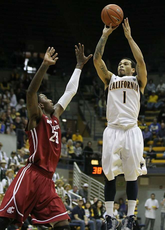 Justin Cobbs took only two shots from the floor against Washington State on Saturday. He hit both as Cal prevailed. Photo: Lance Iversen, The Chronicle