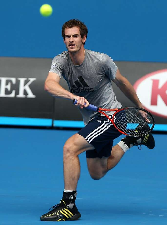 Andy Murray has often been thwarted by Rafael Nadal late in big events. Photo: Dita Alangkara, Associated Press