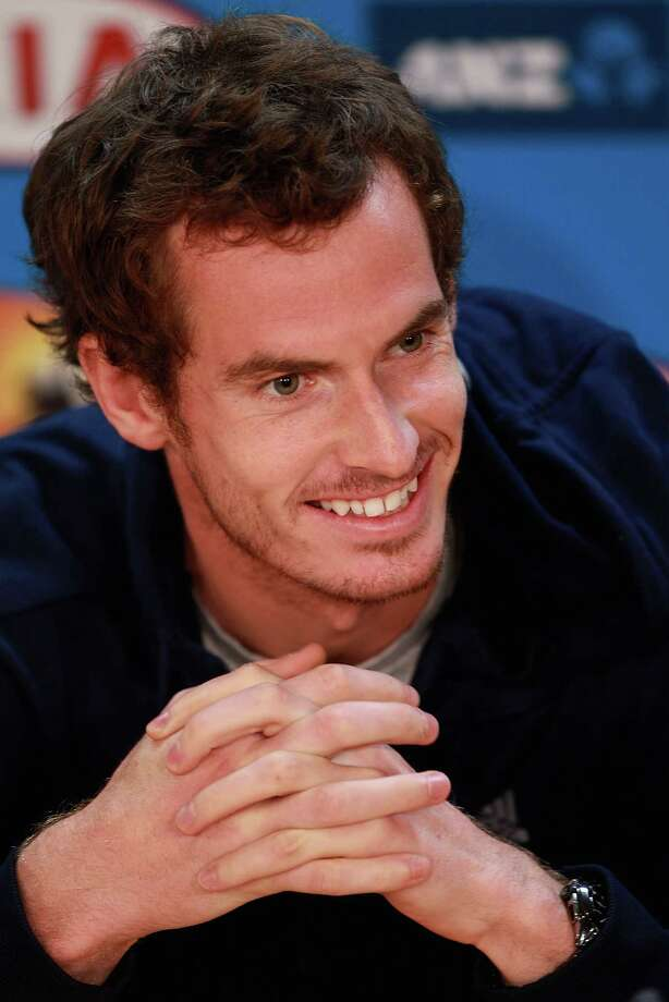 Andy Murray ... Photo: Robert Prezioso, Stringer / 2013 Getty Images