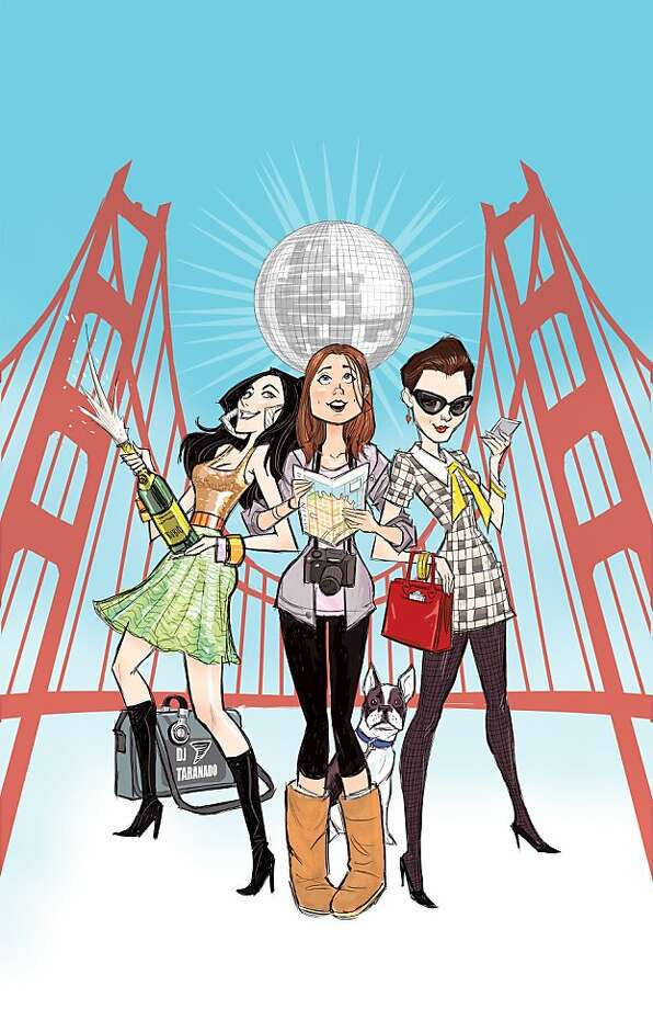 """San Franland"" is a new web series by Ryan Lynch and her other Pixar/Lucasfilm cohorts that is aiming for a 12-episode spring start. The show's cover art is designed by Pixar and Marvel comic artist Bobby Rubio.  Courtesy SanFranLand Photo: San Franland"