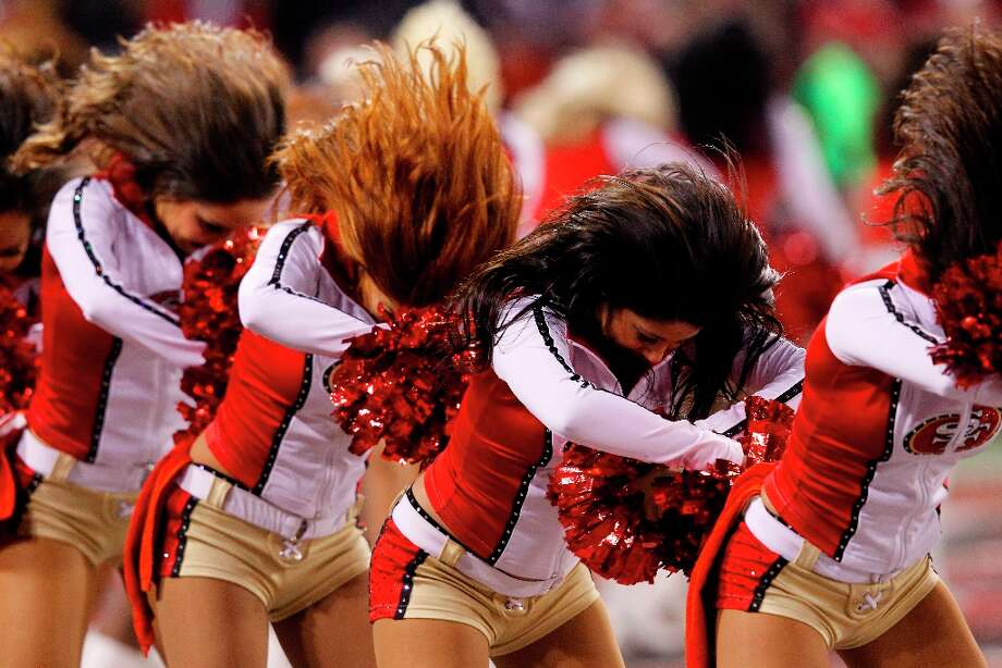 49ers Gold Rush during the San Francisco 49ers game against the Green Bay Packers in the NFC Divisional Playoffs at Candlestick Park in San Francisco, Calif., on Saturday January 12, 2013. Photo: Carlos Avila Gonzalez, The Chronicle / ONLINE_YES