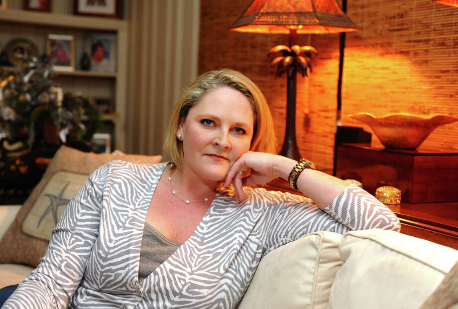 Kara Baekey, who is starting a local chapter of One Million Moms for Gun Control, poses at her home in  Conn. on Tuesday January 8, 2013. The organization, which is modeled after Mothers Against Drunk Driving (MADD), was formed after the Newtown school shooting. Photo: Christian Abraham / Connecticut Post
