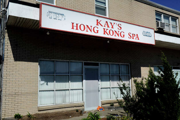 Kay's Hong Kong Spa, 606 North Ave., Bridgeport, Conn. April 6th, 2012. Photo: Ned Gerard