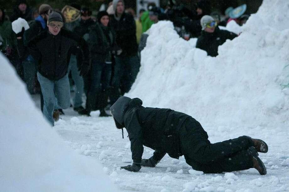 "No mercy was shown during ""Snow Day."" Photo: JOSHUA TRUJILLO, SEATTLEPI.COM / SEATTLEPI.COM"