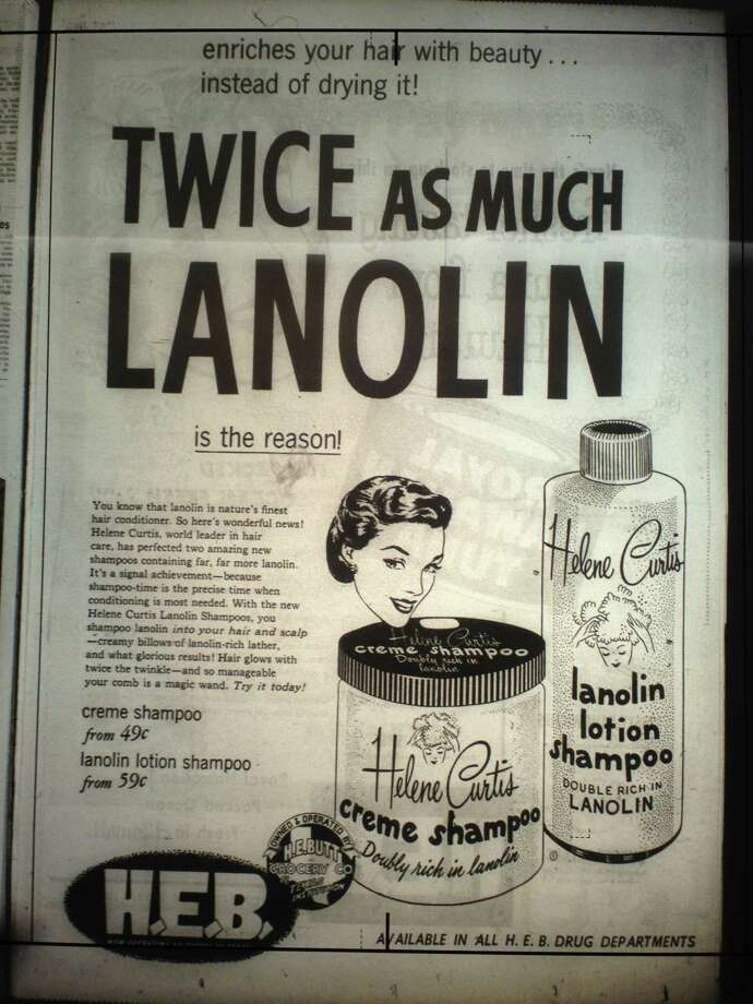 Grocery store ads that ran in San Antonio newspapers in February 1955. Photo: Benjamin Olivo/mySA.com