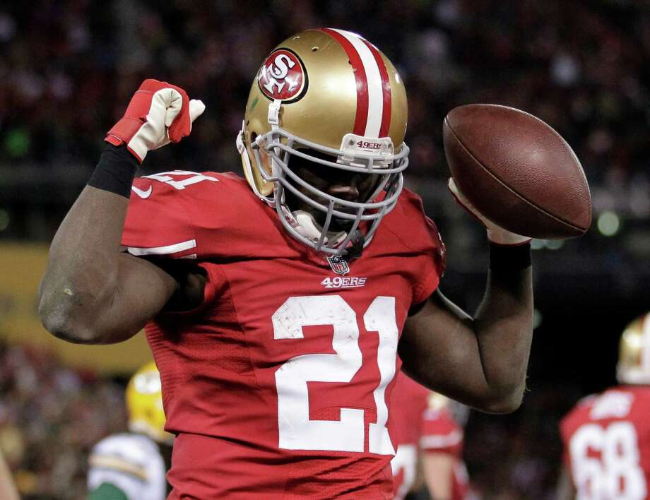 Relentlessness has taken running back Frank Gore to the top of the 49ers' all-time rushing list. (AP Photo/Tony Avelar) Photo: Tony Avelar, Associated Press / FR155217 AP