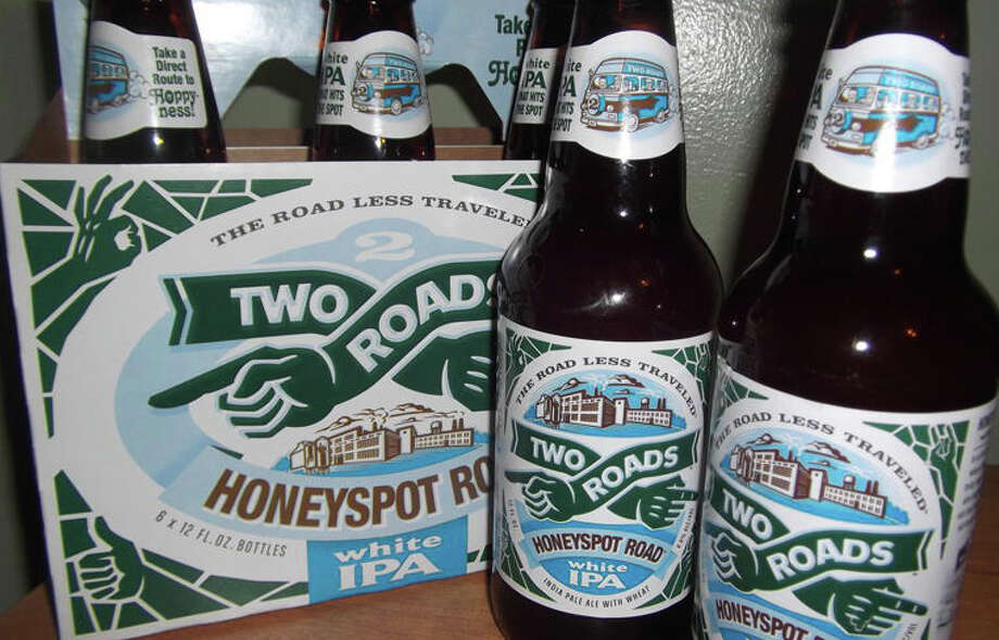 Craft beers are all the rage in the food world early in 2013, as evidenced by the new Two Roads Brewery in Stratford. Photo: Patti Woods / Fairfield Citizen contributed