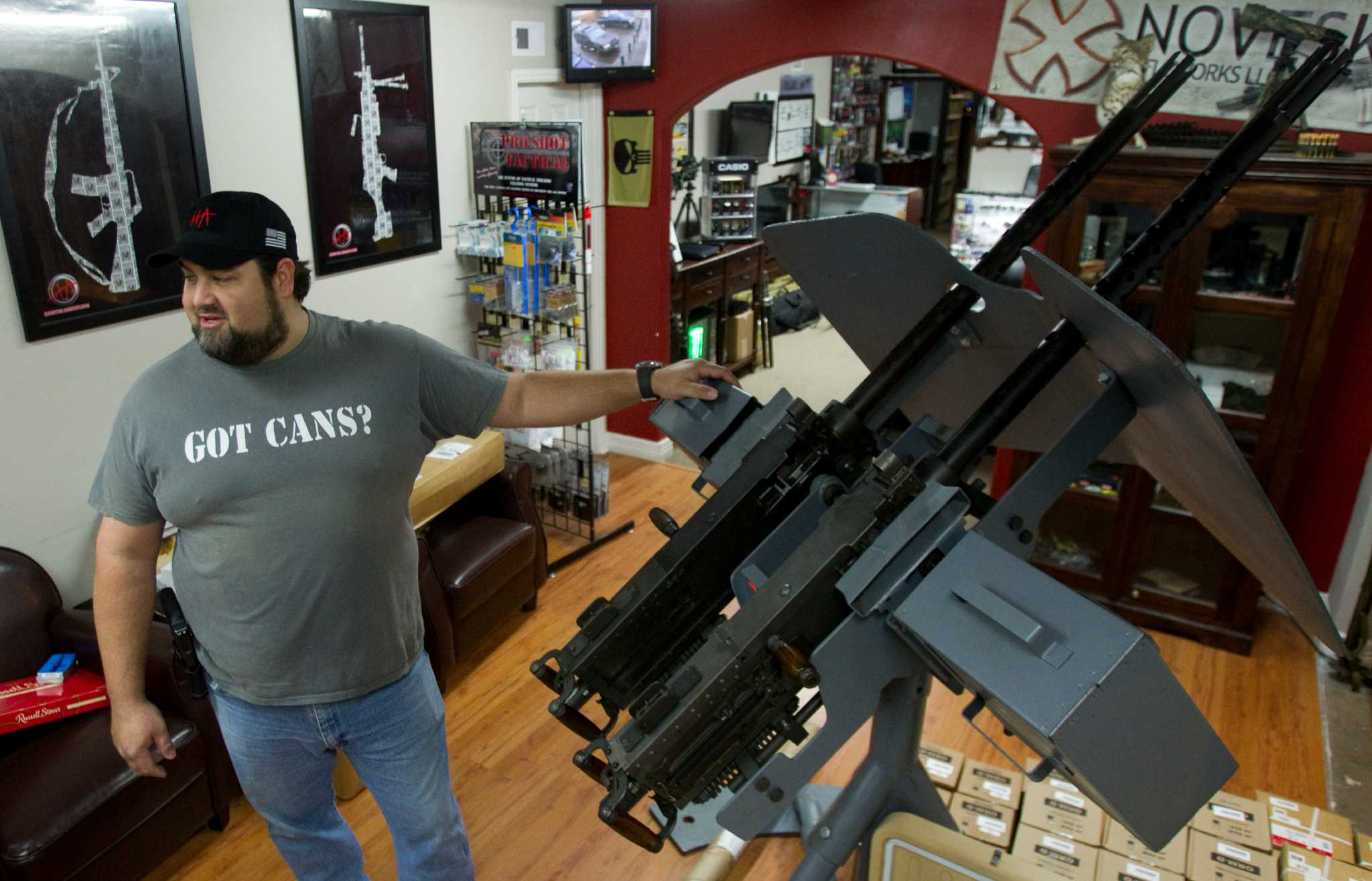About 28 690 Machine Guns Are Registered In Texas San