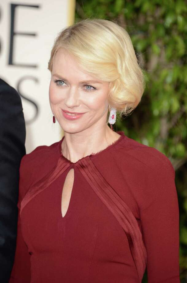 BEVERLY HILLS, CA - JANUARY 13:  Actress Naomi Watts arrives at the 70th Annual Golden Globe Awards held at The Beverly Hilton Hotel on January 13, 2013 in Beverly Hills, California. Photo: Jason Merritt, Getty Images / 2013 Getty Images