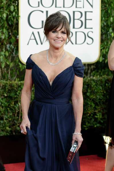 Actress Sally Field arrives at the 70th Annual Golden Globe Awards at the Beverly Hilton Hotel on Su