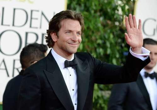Actor Bradley Cooper arrives at the 70th Annual Golden Globe Awards at the Beverly Hilton Hotel on Sunday Jan. 13, 2013, in Beverly Hills, Calif. (Photo by Jordan Strauss/Invision/AP) Photo: Jordan Strauss, Associated Press / Invision
