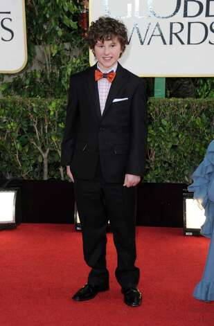 Actor Nolan Gould arrives at the 70th Annual Golden Globe Awards at the Beverly Hilton Hotel on Sunday Jan. 13, 2013, in Beverly Hills, Calif. (Photo by Jordan Strauss/Invision/AP) Photo: Jordan Strauss, Associated Press / Invision