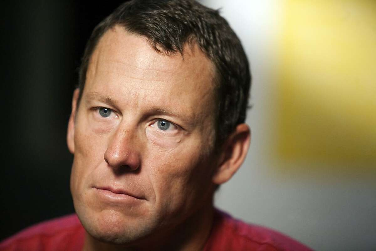 """FILE - In this Feb. 15, 2011 file photo, Lance Armstrong pauses during an interview in Austin, Texas. In 2012, Armstrong decided to give up the battle against doping charges, saying """"enough is enough"""" but acknowledging no wrongdoing. The move began his swift fall from being perhaps the nation's best-known cancer-fighting hero, and though he maintains he was victimized by a """"witch hunt"""" he was still stripped of all seven of his Tour de France victories. (AP Photo/Thao Nguyen, File)"""