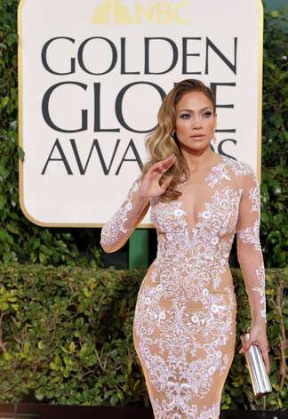Actress/singer Jennifer Lopez arrives at the 70th Annual Golden Globe Awards at the Beverly Hilton Hotel on Sunday Jan. 13, 2013, in Beverly Hills, Calif. (Photo by John Shearer/Invision/AP) Photo: John Shearer, Associated Press / Invision