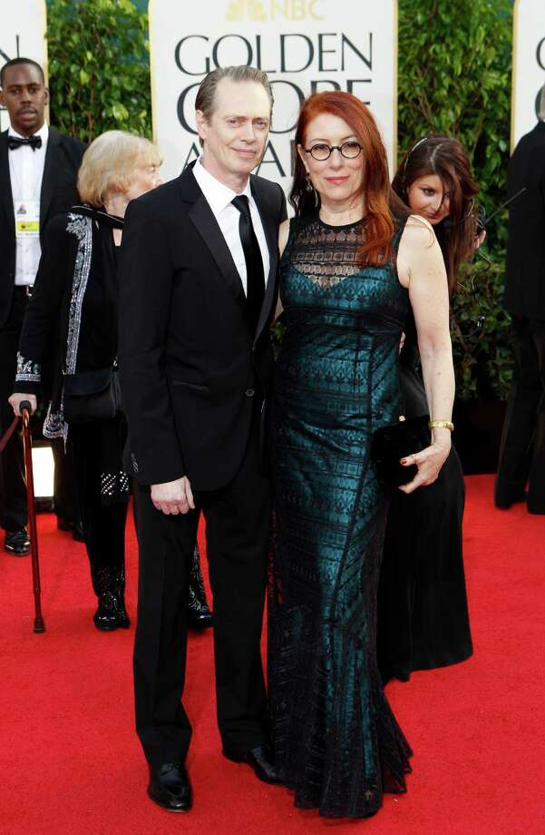 Steve Buscemi and wife, Jo Andres, arrive for the 70th Annual Golden Globe Awards show at the Beverly Hilton Hotel on Sunday, January 13, 2013, in Beverly Hills, California. (Wally Skalij/Los Angeles Times/MCT) Photo: Wally Skalij, McClatchy-Tribune News Service / Los Angeles Times
