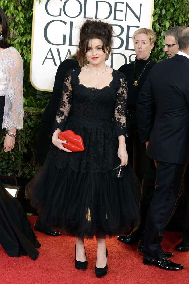 BEVERLY HILLS, CA - JANUARY 13:  Actress Helena Bonham Carter arrives at the 70th Annual Golden Globe Awards held at The Beverly Hilton Hotel on January 13, 2013 in Beverly Hills, California. Photo: Jason Merritt, Getty Images / 2013 Getty Images