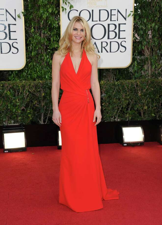Best: Claire Danes looks fantastic in this gown, a triumph of minimalism that's interestingly draped. Hair and makeup are perfectly complimentary. Photo: Jordan Strauss/Invision/AP