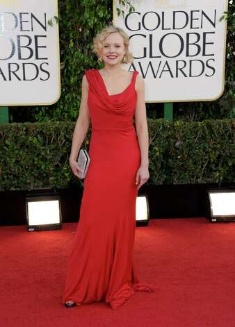 Actress Alison Pill arrives at the 70th Annual Golden Globe Awards at the Beverly Hilton Hotel on Sunday Jan. 13, 2013, in Beverly Hills, Calif. Photo: Jordan Strauss/Invision/AP