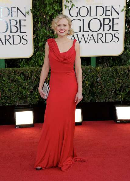 Actress Alison Pill arrives at the 70th Annual Golden Globe Awards at the Beverly Hilton Hotel on Su