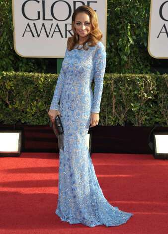 Nicole Richie arrives at the 70th Annual Golden Globe Awards at the Beverly Hilton Hotel on Sunday Jan. 13, 2013, in Beverly Hills, Calif. Photo: John Shearer/Invision/AP