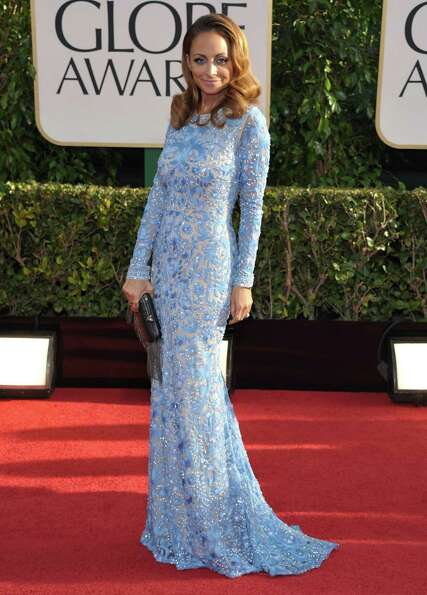 Nicole Richie arrives at the 70th Annual Golden Globe Awards at the Beverly Hilton Hotel on Sunday J