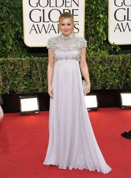 Actress Kristen Bell arrives at the 70th Annual Golden Globe Awards at the Beverly Hilton Hotel on Sunday Jan. 13, 2013, in Beverly Hills, Calif. Photo: John Shearer/Invision/AP