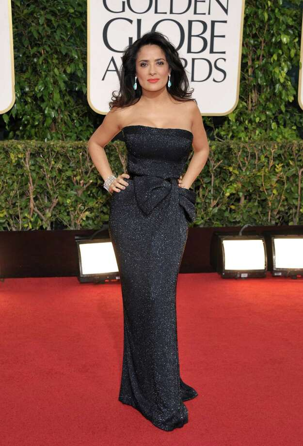 Best: Now here's a curious thing. You can see a lot of cases of the dress overshadowing the actress at an event like this; here's a case of the opposite. Salma Hayek's dress is nothing special; in fact, it's a bit past its expiration date with that bow. But Salma Hayek herself is so stunning that she actually elevates this outfit into something that makes total sense for her. And that's a good note to end on. Photo: John Shearer/Invision/AP