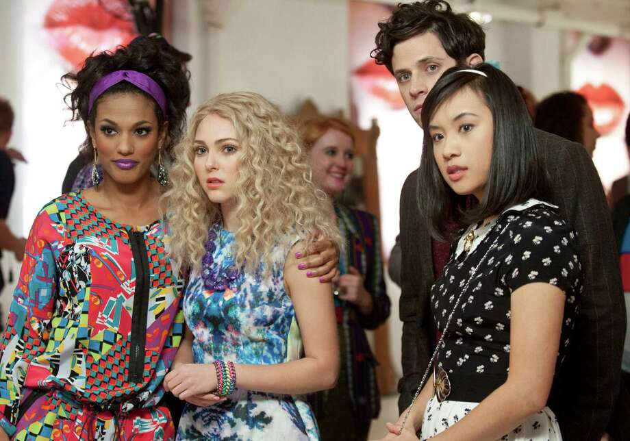 """The Carrie Diaries"" stars, from left, Freema Agyeman as Larissa, AnnaSophia Robb as Carrie, Kyle Harris as Seth and Ellen Wong as Mouse. Photo: Barbara Nitke, STR / ONLINE_YES"
