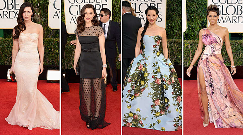 This year's Golden Globe Awards saw an unusual amount of fashion variety on the red carpet, with no