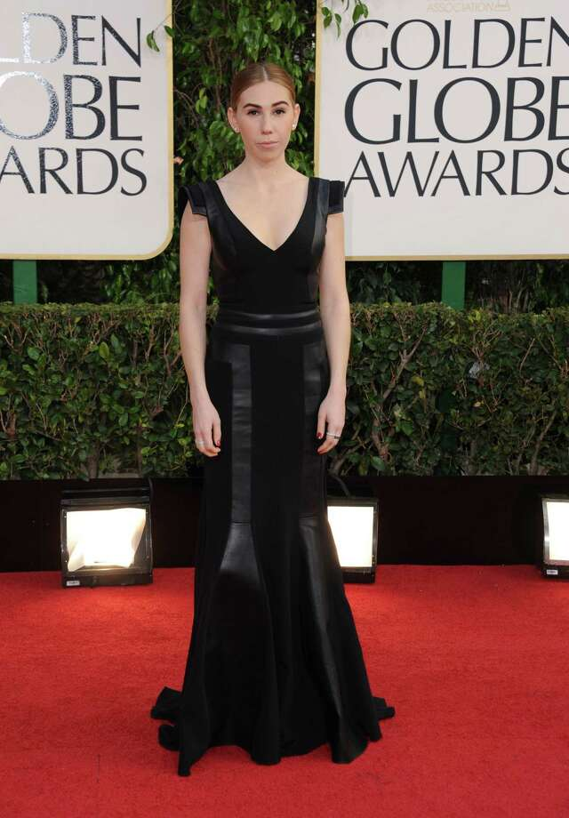 Actress Zosia Mamet arrives at the 70th Annual Golden Globe Awards at the Beverly Hilton Hotel on Sunday Jan. 13, 2013, in Beverly Hills, Calif. (Photo by Jordan Strauss/Invision/AP) Photo: Jordan Strauss, Associated Press / Invision