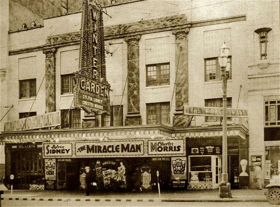 The Winter Garden Theatre in 1932. (Courtesy Puget Sound Theatre Organ Society) Photo: Courtesy Puget Sound Theatre Organ Society