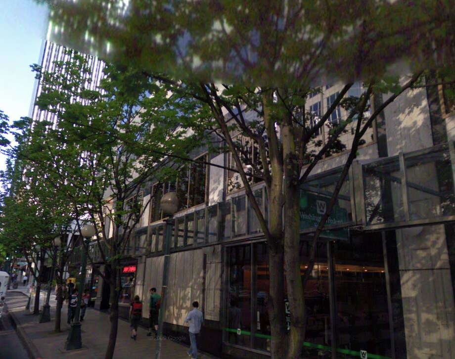 A hotel is now where the Blue Mouse Theatre once stood. Photo: Google Street View