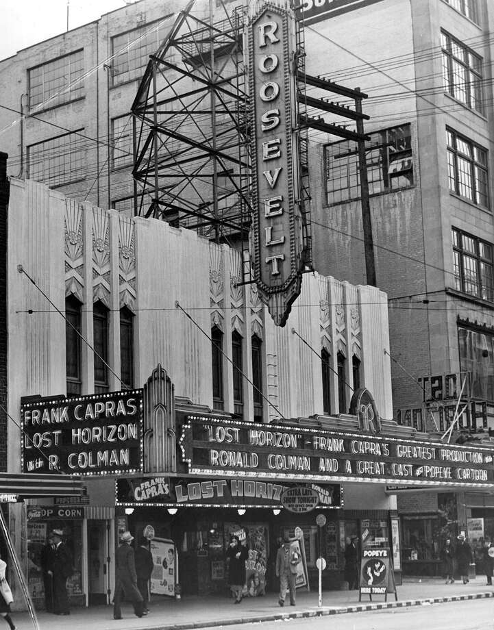 The Roosevelt Theatre at 515 Pike Street, likely in 1937. Photo: Seattlepi.com File
