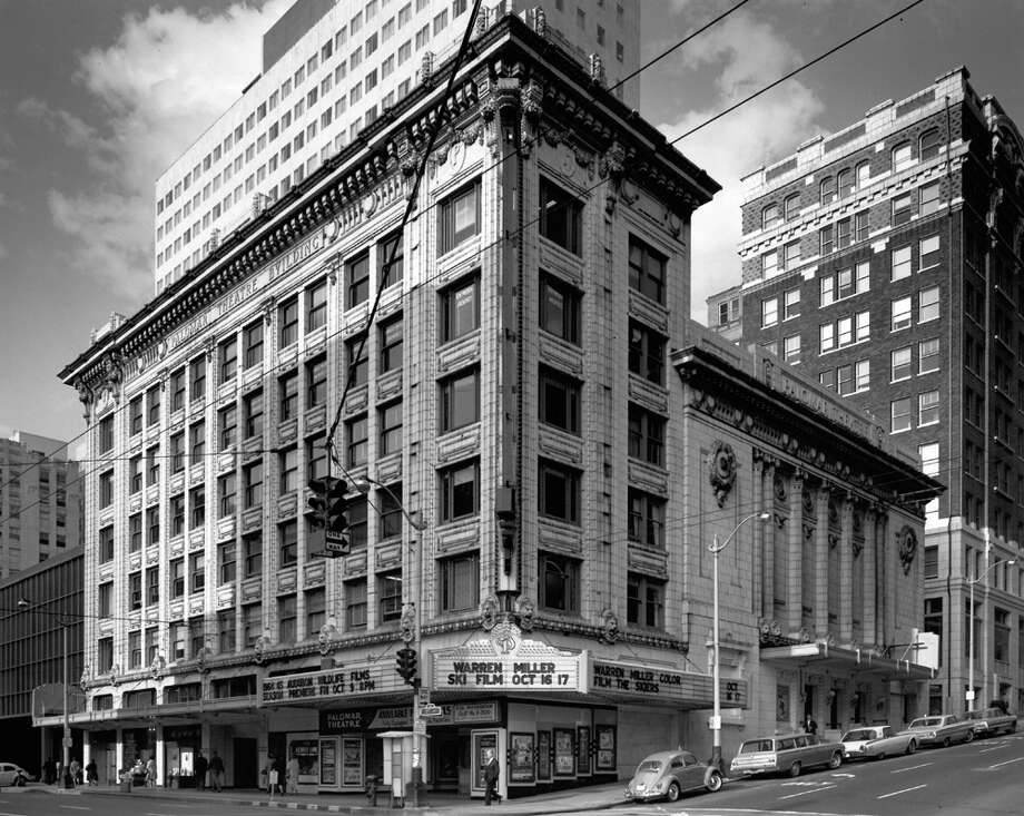 A 1960s photo of the Palomar Theatre, which had also been the second Pantages Theatre in Seattle, built in 1911. Photo: Seattlepi.com File
