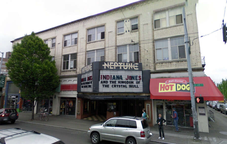 The Neptune Theater at 1303 N.E. 45th St. in Seattle. Photo: Google Street View