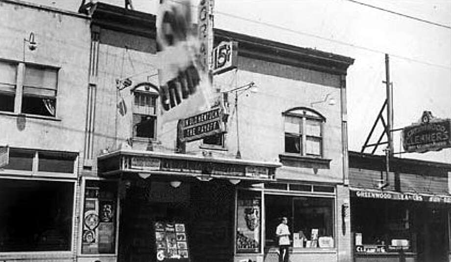 """The Grand Theatre in the mid-1930s. In the 1970s, it was a porno theatre called the Northend and featured Deep Throat"""" in May 1974. (Courtesy Puget Sound Theatre Organ Society and the Taproot Theatre) Photo: Courtesy Taproot Theatre And The Puget Sound Theatre Organ Society"""