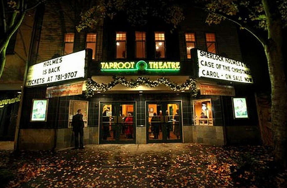 The Taproot Theatre, at 204 N. 85th St., has been home to several theaters, and the Greenwood building was constructed in 1918. Here it is shown in Nov. 2010 after restoration following a 2009 arson that damaged the building and destroyed neighboring businesses. The company purchased the space in 1989. Photo: Joshua Trujillo/seattlepi.com File