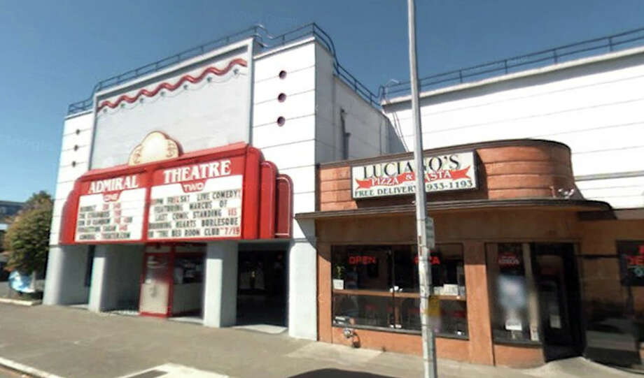 The Admiral Theatre in West Seattle has been remodeled, but remains at 2343 California Ave. S.W. Photo: Google Street View