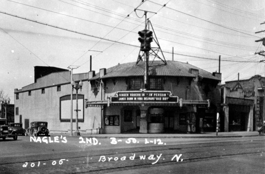 The Broadway Theatre was first the Society Theatre at 201 Broadway. The building was constructed in 1911, and this picture was from 1937.
