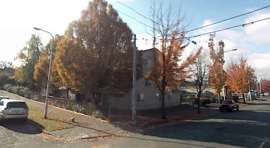 A Seattle Housing Authority building now stands where the Madrona Theatre once did in the 2800 block of East Cherry Street. Photo: Google Street View