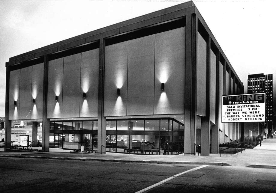 The King Theater on Oct. 29, 1973, taken the day before it officially opened to the public.
