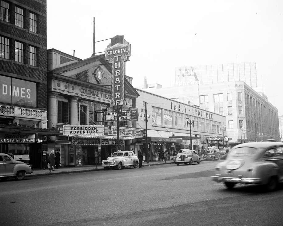 The Colonial Theater at 1515 Fourth Ave., Jan. 30, 1948.