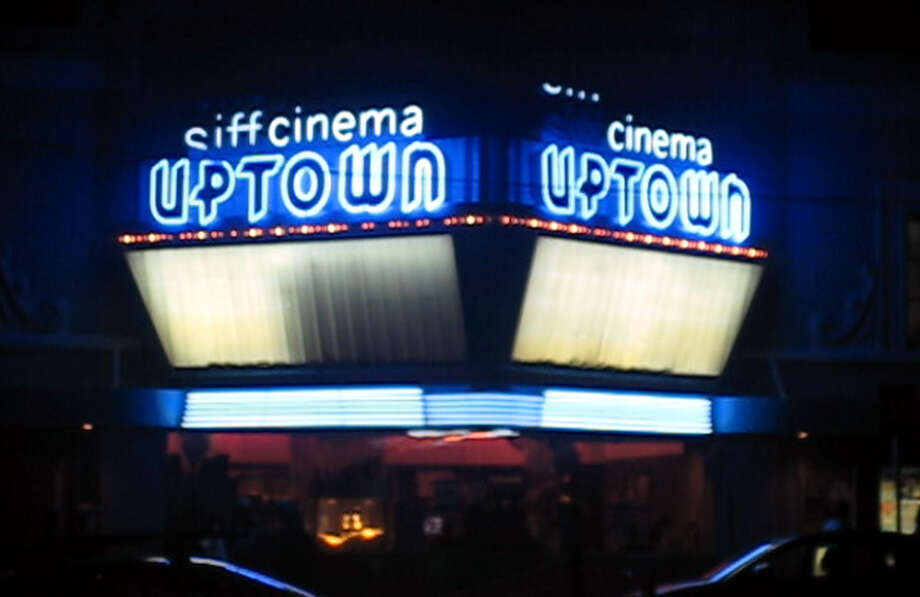 Back with blue: The Uptown reopened earlier this year as the Siff Cinema at the Uptown. Photo: Casey McNerthney