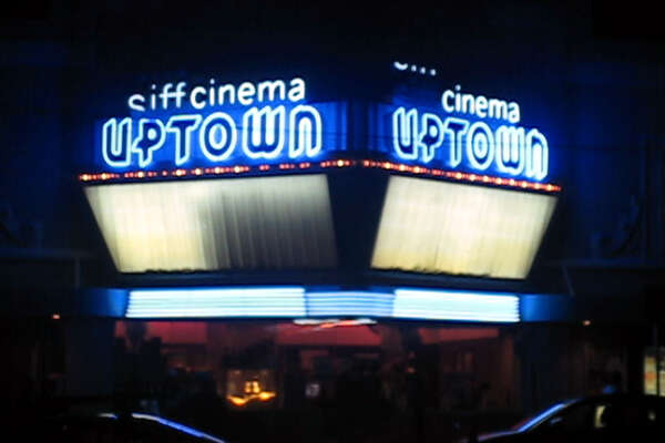 Back with blue: The Uptown reopened earlier this year as the Siff Cinema at the Uptown.