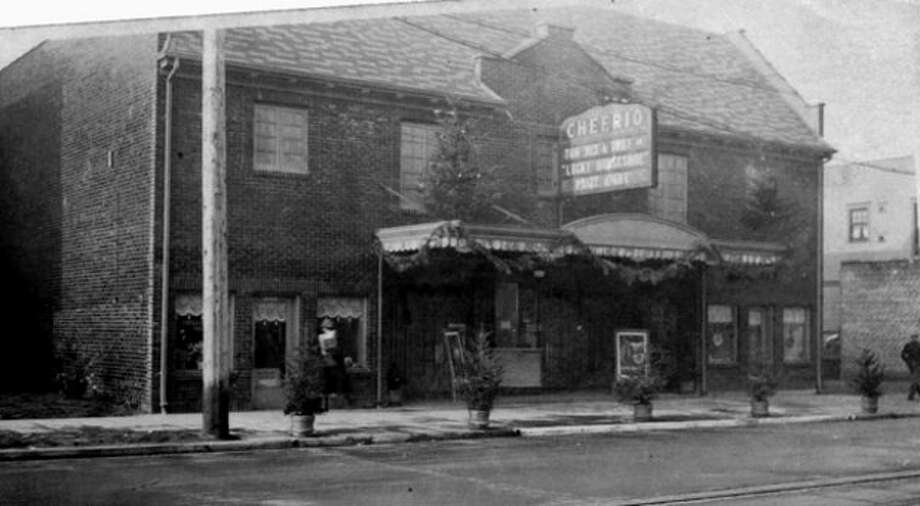 The Cheerio Theatre at 1529 Queen Anne Ave., 1925. (Courtesy Puget Sound Theatre Organ Society) Photo: Courtesy Puget Sound Theatre Organ Society